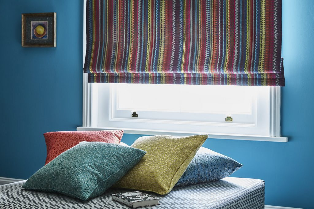 Colour Matched Pillows & Curtains