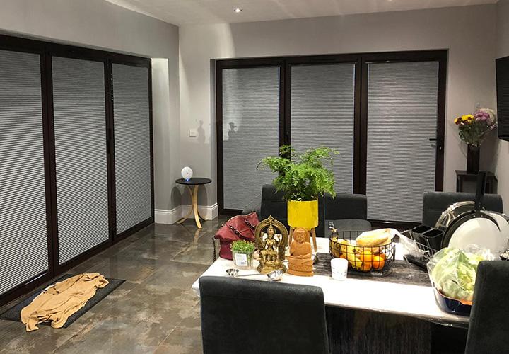 Bi-Fold door blinds