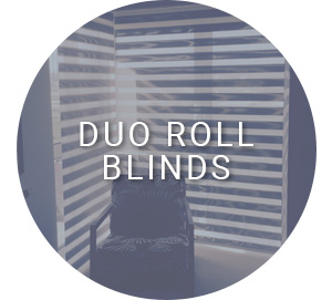 Duo roll blinds