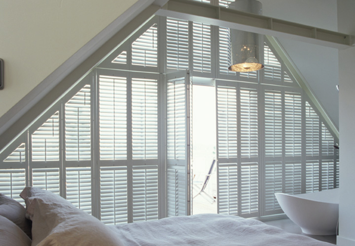 Special shaped shutters