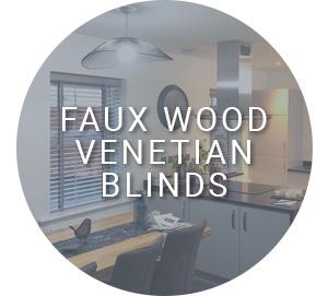 Faux Wood Venetian Blinds